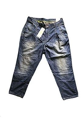 Adidas Neo Womens Blue Fashion Drop Crotch Jeans W30 L30