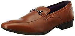 Knotty Derby Mens Arthur Saddle Tan Formal Shoes - 10 UK/India (44 EU)