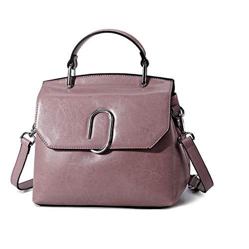 Guess Leder Kupplung (LAIDAYE Damentaschen Clutches Kupplungen Handtaschen Aus Leder Kapazität Lässig Tote Schulter Top-Griff Joker-Typ Exquisite Taschen,Pink)