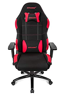 AKRacing EX-Wide PC gaming chair Upholstered padded seat - Sillas para videojuegos (PC gaming chair, PC, 150 kg, Upholstered padded seat, Upholstered padded backrest, Racing)