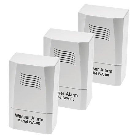 ELV Batterie-Wasseralarm WA-08, 3er-Set
