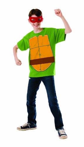 Raphael-Kostüm für Jungen Ninja Turtles Kit (Junge Ninja Turtle Kostüme)