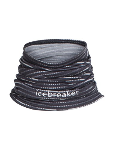 Icebreaker Adult Flexi Chute Diamond Line Funktionsutuch, Black, OS -