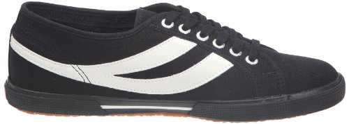 Superga 2951 COTU, Baskets mode mixte adulte Noir/blanc (Black/white)