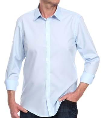 Venti Herren Businesshemd Slim Fit 001480/102, Gr. 37, Blau (102 bleu)