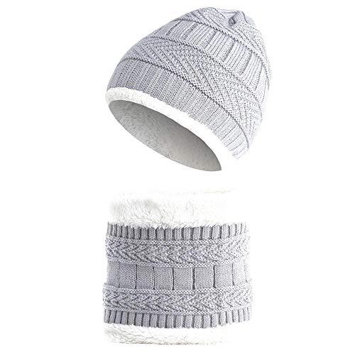 Per Sombrero Unisex Punto Bufandas Cálido Invierno