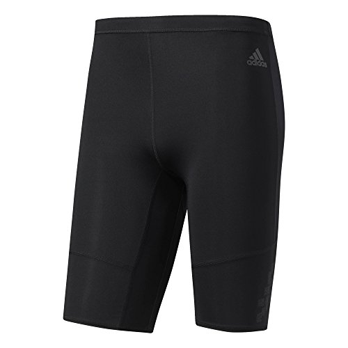 adidas Herren Supernova Kurze Tights, Black, M (Herren Tight Running Shorts)