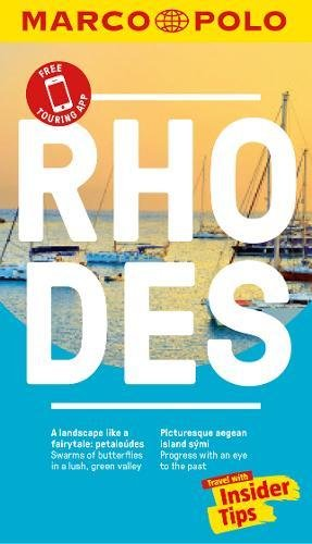 Rhodes Marco Polo Pocket Travel Guide - with pull out map (Marco Polo Guide) -
