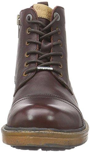 Pepe Jeans Vivek, Chaussures Lacées Homme Marron (878Brown)