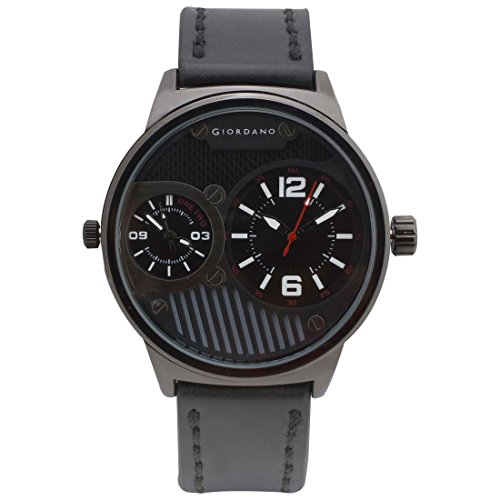 Giordano Analog Black Dial Men's Watch-C1056-06
