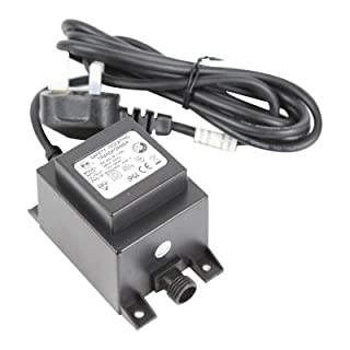 Direct Global Trading 40VA Replacement Low Voltage Water Feature Garden Lights Transformer