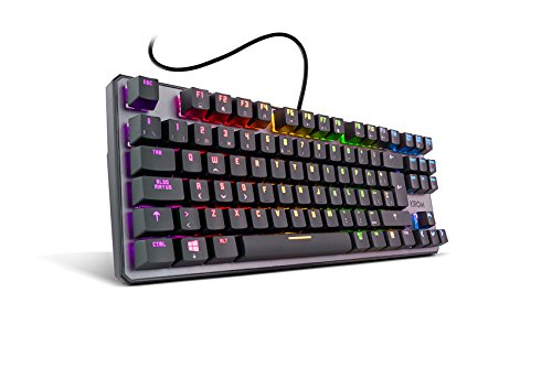 Al no necesitar de software adicional, podrás disfrutar al momento de las prestaciones de este teclado mecánico y elegir entre diferentes modos de iluminación usando solo combinaciones de teclado. Si tus juegos son diferentes, tu forma de jugar tambi...