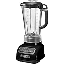 KitchenAid 5 Speed 5KSB1585DOB 1.7 Litre 550 W Diamond Blender with Recipe Book (Standard Colour - Onyx Black)