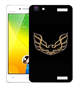 Snoogg Roaring Eagle Designer Protective Back Case Cover For VIVO Y37