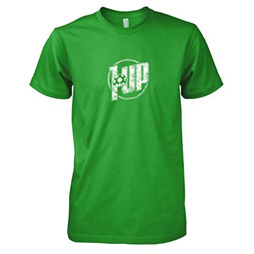 en T-Shirt, Größe XL, grün (Toad Mario Kart Kostüm)