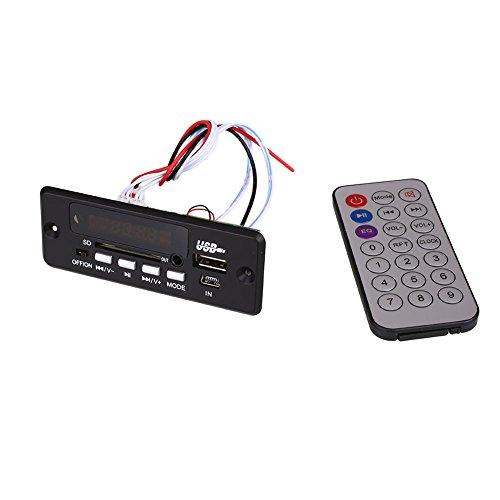 Cewaal Module Bluetooth Talking Télécommande Lecteur USB SD