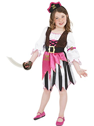 Halloweenia - Piratenbraut Kostüm für Kinder, 122-134, 7-9 Jahre, - 7 Johnny Depp Kostüm