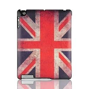 VEO | Ultra Slim Smart Case Hülle für iPad 4 (mit Retina Display), iPad 3 und iPad 2, Union Jack Flaggenmotiv