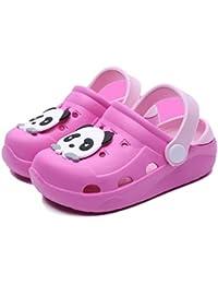 1d827992f51 Mixte Enfant Mules et Sabots Été Sandales de Plage à Enfiler Chaussures  Antidérapant Pantoufles Clog Chaussons