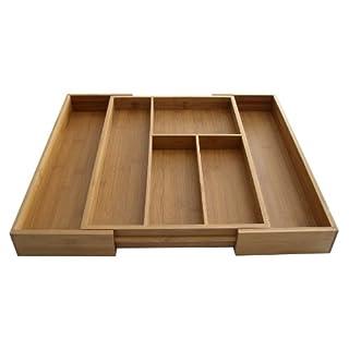 Axis Communication AXIS Bambus erweiterbar Schublade Organizer, 41,9cm zu 50,8cm