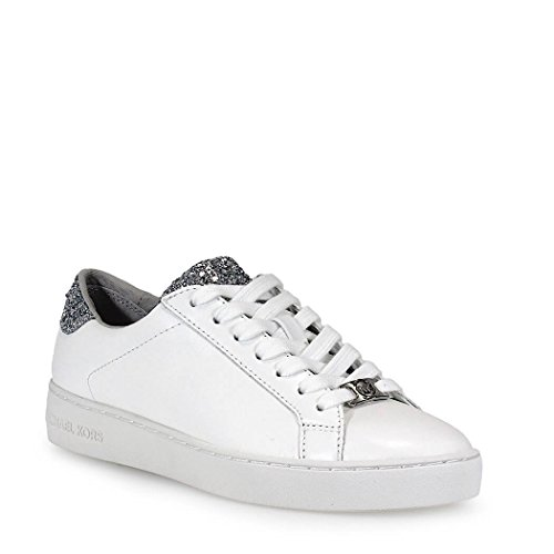 MICHAEL KORS Irving Lace Up Sneaker Women Opt/Silver