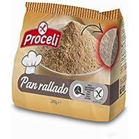 Proceli Pan Rallado Sin Gluten - 200 gr - [Pack de 8]