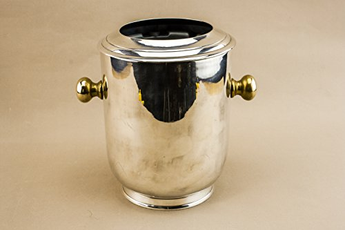 vintage-elegant-ice-bucket-rare-metal-modernist-silver-small-serving-gift-continental-european-late-