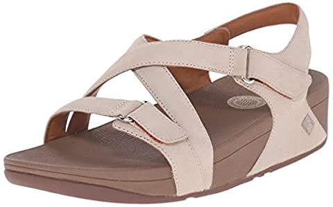 FitFlop™ The Skinny Womens Leather Sandals 6 Stone