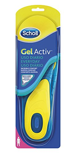 Scholl Gel Activ Everyday, Solette Donna, EU 35-40.5, 1 Paio