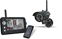 Elro Digitale Funk - Überwachungskamera CS95DVR mit Aufzeichnungsfunktion, 4-Kanal