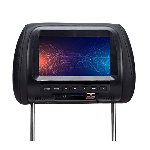 GCDN Coche Monitor,7 Pulgadas Pantalla LCD Reposacabezas