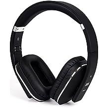 August EP650 – Auriculares Bluetooth NFC Inalámbricos con AptX - Color Negro