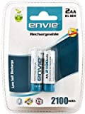 Envie 2100mah 2pc Rechargable battery