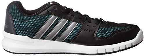 Adidas Essential Star .2, Scarpe da Corsa Uomo Multicolore (Negro / Gris (Negbas / Hiemet / Verimp))