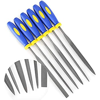 22652 Mini File Set With Pouch 6 Piece BlueSpot Tools