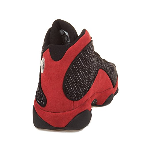 "41DneQeWC5L. SS500  - s Air Jordan Retro 13 ""Bred"" Suede Basketball Shoes"