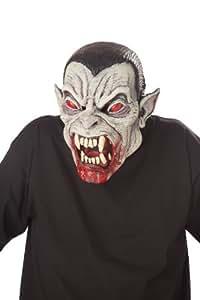 California Costume - MAHAL804 - Motion Vampire Dracula , multicoloured , Taille unique - Masque adulte vampire endiablé