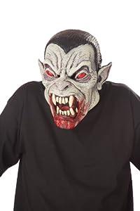 California Disfraz Accesorio Halloween Adulto máscara Ani-Motion Vampire Dracula Talla única