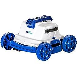 Manufacturas Gre Kayak Jet - Robot limpiafondos, 51 x 45 x 52 cm, color blanco y azul