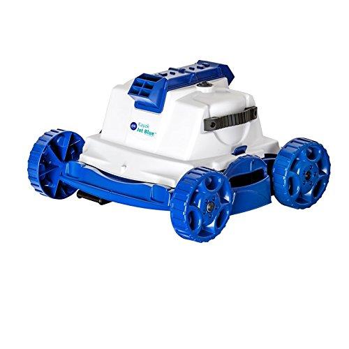 Gre Kayak Jet - Robot limpiafondos, 51 x 45 x 52 cm, color blanco y azul