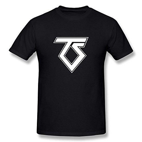 Uomo's Twisted Sister Logo T-shirt