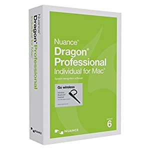 Dragon Dictate Professional Individual for Mac 6.0 Wireless, Indian English