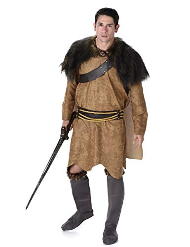 Barbarian Warrior Mens Fancy Dress Viking Medieval