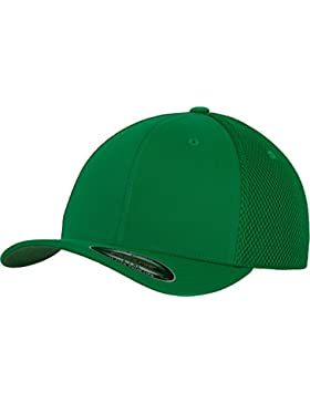 Flexfit Tactel Mesh Urban Classics sombreros gorras, verde, Small/ Medium