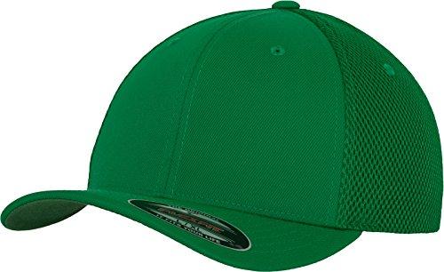 Flexfit Erwachsene Mütze Tactel Mesh, Green S/M Green Baseball-kappe