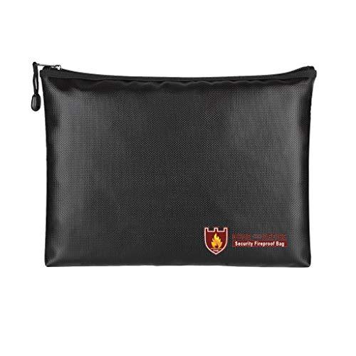 Dokument Tasche Feuer Resistent & Wasser Resistent Geld Tasche Safe Lagerung ()