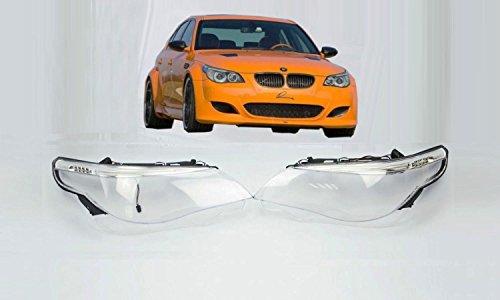 Preisvergleich Produktbild Scheinwerfer Glas e60 e61 vor Facelift Streuscheiben Linsen Abdeckung LED