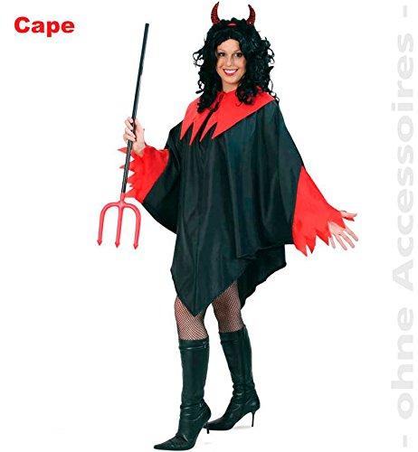 KOSTUEM CAPE DIAVOLO XXL (Kostümen Männer Frauen In)