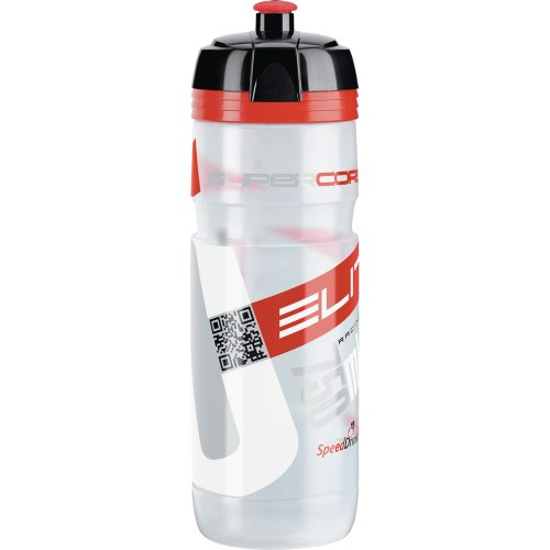 Elite Trinkflasche Supercorsa, Transparent-Rot, 750 ml, FA003514219