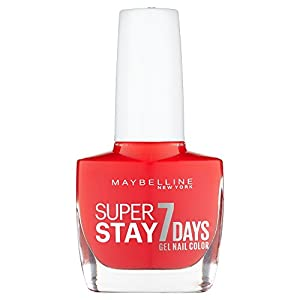 Maybelline SuperStay 7 Days Gel 493 Blood Orange Nail Polish 10ml